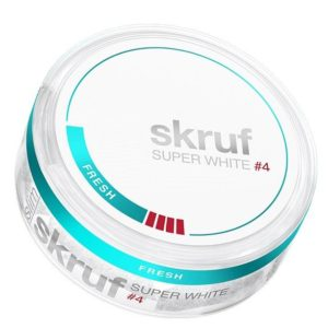 SKRUF Snus Skruf Super White Strong